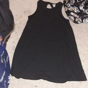MOSSIMO SUPPLY CO BRAND BLACK SUMMER DRESS